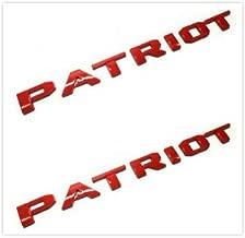 Best jeep patriot badge Reviews