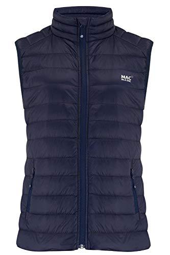 Mac in a Sac® - Doudoune sans Manches Alpine - en Duvet - pour Femme - Bleu Marine - XL