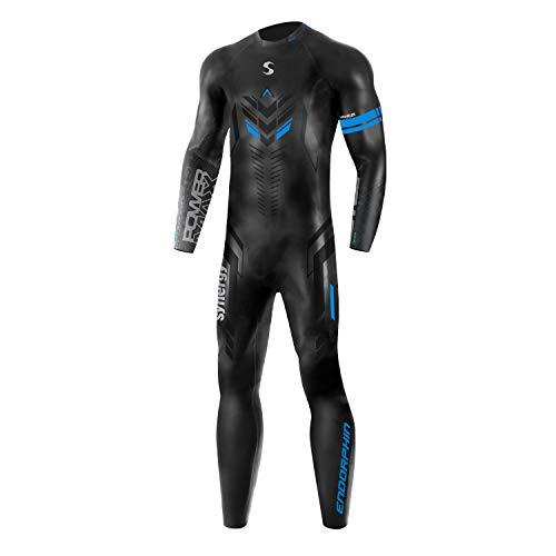 Synergy Endorphin Men's Full Sleeve Triathlon Wetsuit (2021, L1)