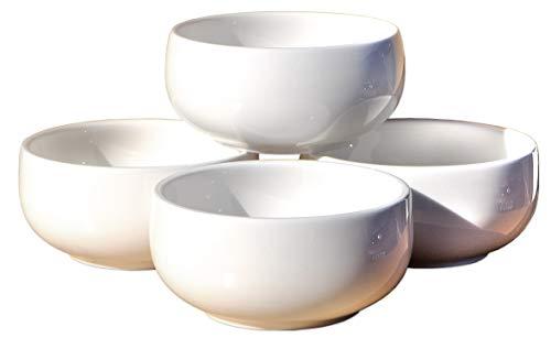 Goto 4 Cuencos de arroz y Sopa de Estilo Coreano de 9,8 cm