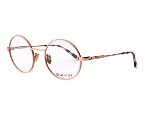 Calvin Klein Brille (CK-19114 780) Metall roségold