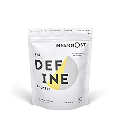 Innermost The Define Booster: 100% Pure Acetyl L Carnitine Powder, This Vegan Nutrition Supplement is Formulated to Reduce Fat, Boost Energy and Reveal Lean Muscle
