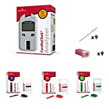 CardioChek Analyzer Starter Cholesterol kit with 3 Count Cholesterol Test Strips by PTS Panels