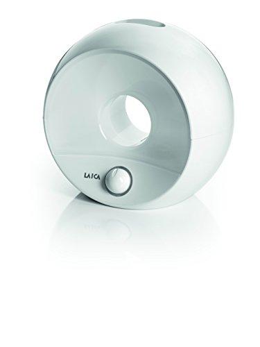 Humidificador ultrasónico muy silencioso con luz Laica HI3011 , flujo de vapor ajustable, duración 8-9 horas