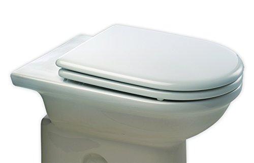 Bemis 3415CP000 Esedra Sedile Copriwater Dedicato, Cerniere in metallo, Bianco