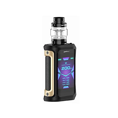 Electronic cigarette Vape Geekvape Aegis X Kit 200w box mod 5.5ml Cerberus tank waterproof vapor E cigarette Kit Negro de oro