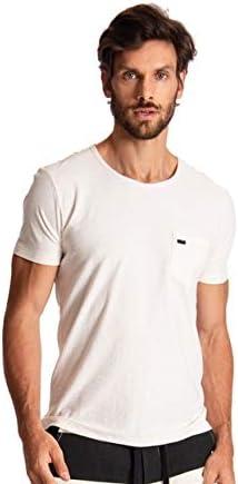 Sergio K Camiseta Basic Stoned Manga Curta Masculino
