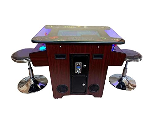 Abvideo Exclusive Huge 22 inch Screen With Adjustable Stools Video Game Machine Cocktail Arcade...