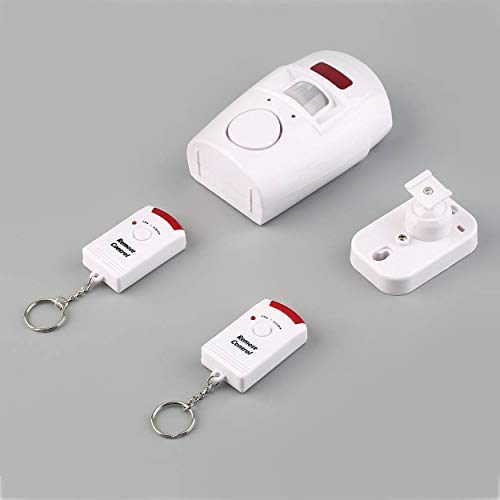 105db Pir Motion Sensor Home Shed Burgular Alarm System Wireless Security Kit