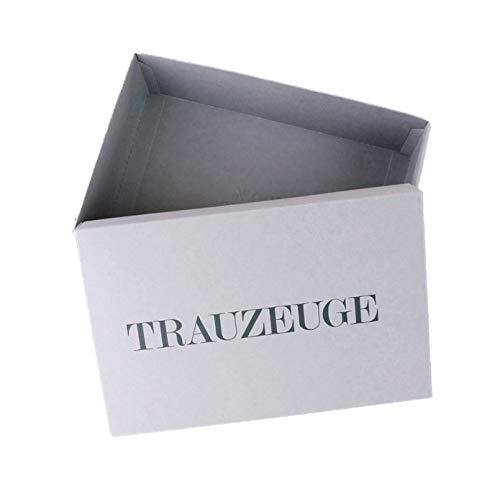 Geschenkbox Trauzeuge Geschenk Karton personalisiert Verpackung