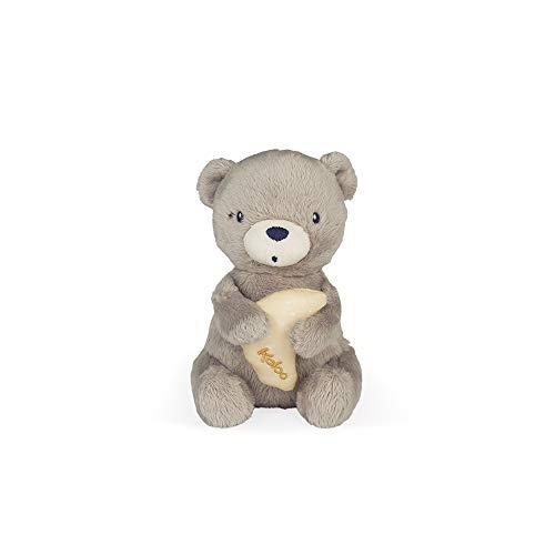 Kaloo- Home: Oso Peluche Musicale para Bebé, Color marrón, 16 cm (Juratoys K969907)