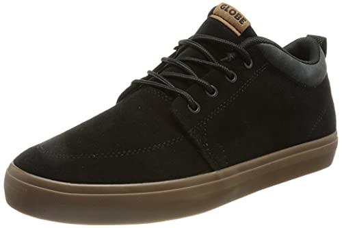 Globe GS Chukka, Herren Sneaker, Schwarz - Black Grey Tobacco - Größe: 44.5 EU