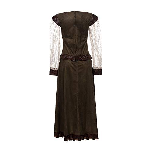 Kostümplanet® Lady Marianne Robin Hood Damen Kostüm Kleid Größe 40/42 - 7