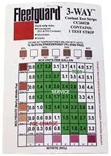 FleetGuard Coolant Test Kit Strips 3 Way Each CC2602B