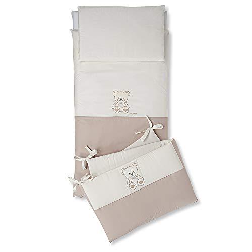 Foppapedretti 9900279116 complet Parure de lit, blanc