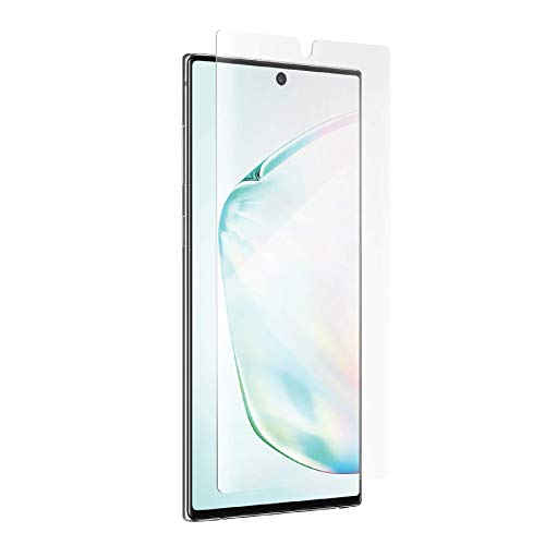 ZAGG InvisibleShield Ultra Clear Film Screen Protector - Maximum Clarity + Shatter Protection - Made for Samsung Galaxy Note 10 - Case Friendly (200203698)