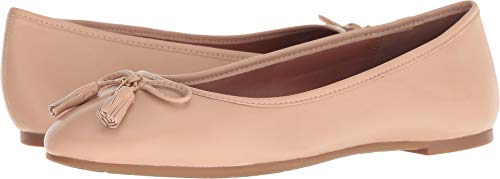 COACH Bea Leather Flat Beechwood 9.5