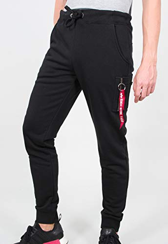 ALPHA INDUSTRIES Herren Jogginghosen X-Fit schwarz XL