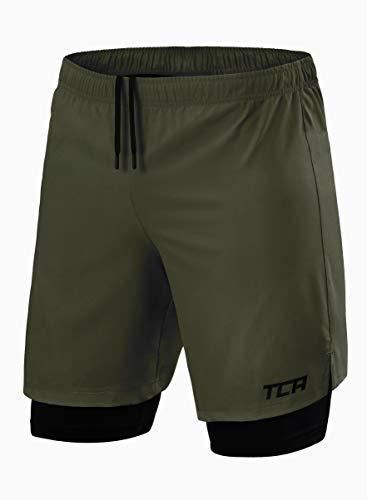 8. TCA Men's Ultra Running/Gym Shorts