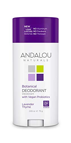 Andalou Naturals Botanical Deodorant, Lavender Thyme 2.65 Ounce