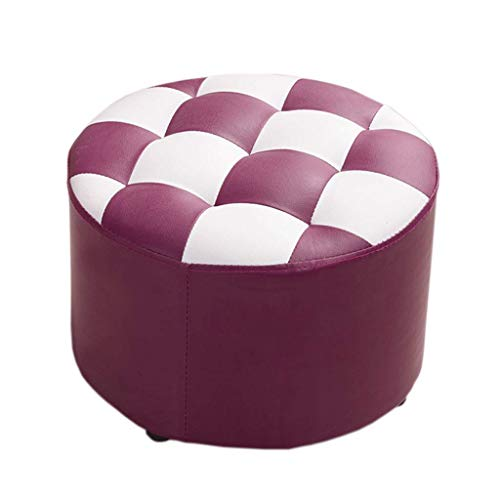 FENGLIAN Comfortabele Sofa Fashion ronde kruk, eenvoudige schoenenbank, moderne bankbank, dressoir, lage kruk 40 * 26cm