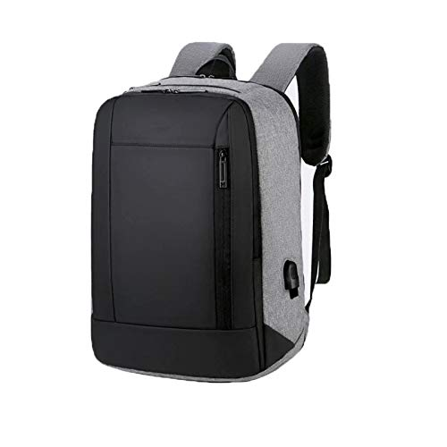 Laptop Backpack Anti-theft Work Computer with USB Charging port for Men Women Water Resistant Casual Daypack Large College High School Bag Fits 16 Inch Laptop,Black,16 inch