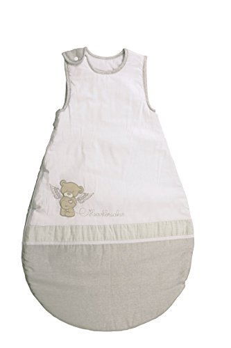 roba Schlafsack, 90cm, Babyschlafsack ganzjahres/ganzjährig, aus atmungsaktiver Baumwolle, Baby- und Kleinkindschlafsack unisex, Kollektion 'Heartbreaker'