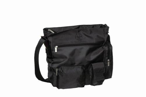Lässig leb101g – Easy Bag Classic, design : Patchwork, Couleur : Noir