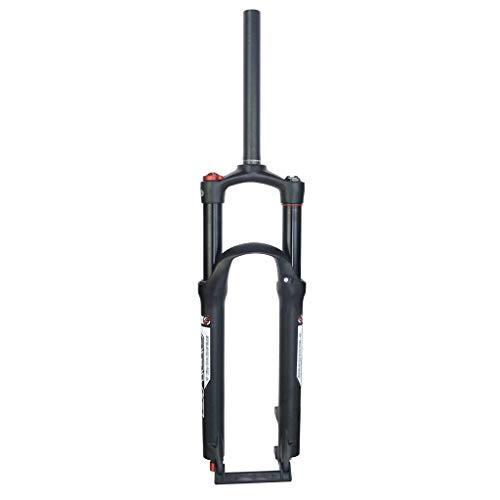 AISHANG Fourche Avant de vélo VTT 26/27.5/29 Pouces réglage d'amortissement Amortisseur Voyage 120mm Disque 9mm QR Suspension