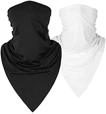 Summer Face Scarf Mask Sun UV Dust Protection Breathable Elastic Face Scarf Mask for Hot Summer product image