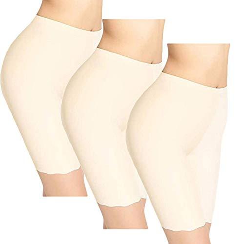 LILILIHOT - Conjunto de 3 pantalones de seguridad para mujer, pantalones de yoga cómodos y ajustados