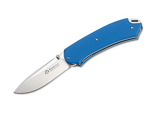 Böker Tasche und Küchenmesser Klinge Maserin Birdland Taschenmesser, Blau, M