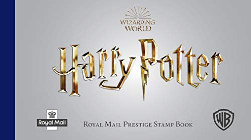 Harry Potter Prestige stamp Book Postmarked Edition