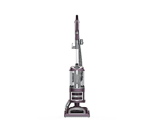 Shark Navigator Deluxe Upright Corded Bagless Vacuum for Carpet and Hard Floor with Lift-Away Hand Vacuum and Anti-Allergy Seal (NV361PR), Purple