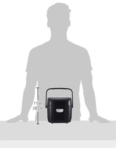 アイリスオーヤマ圧力IH炊飯器3合圧力IH式40銘柄炊き分け機能極厚火釜大火力玄米ブラックRC-PD30-B