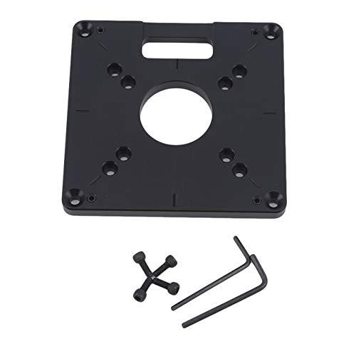 Bigsweety Tischplatte Platte Aluminiumplatte Trimmmaschine Flip Board für die Holzbearbeitung