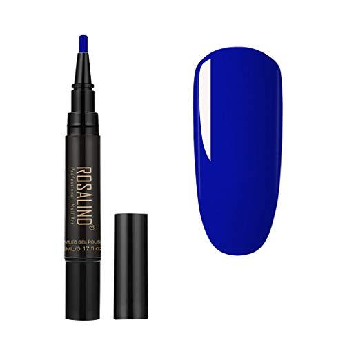 Kapian UV Gel Nagellack 3-in-1 Nagelgel Lackstift UV-LED-Gelpoliermittel abtrocknen Kein Grundlack Benötigen Sie einen schnellen Nagelgel-Stift-Kit