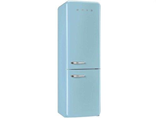 Smeg FAB32RAZN1 Independiente 321L A++ Azul nevera y congelador - Frigorífico (321 L, SN-T, 10 kg/24h, A++, Compartimiento de zona fresca, Azul)