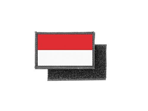 Patch met Indonesische vlag