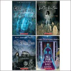 All the Lovely Bad Ones Deep and Dark and Dangerous The Old Willis Place and Wait Till Helen Comes  Spooky Novels Set by Mary Downing Hahn  4-Book Set