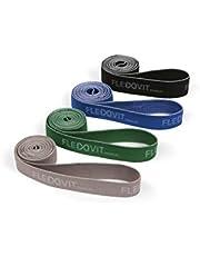 FLEXVIT Revolve Band - Bandas de fitness para entrenamiento efectivo de todo el cuerpo, HIT, coordinación, estabilización y fuerza de salto, 4 fuerzas, principiantes y profesionales