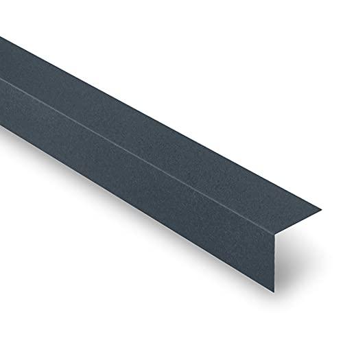 Cornière Universelle - Cornière Acier Mat - 2100x80x80 mm - Recouvrement Transversal 100 mm - Acier 0,50 mm - Revêtement Mat Texturé 40 µm - Garantie 20 Ans - Anthracite Mat - YOUSTEEL
