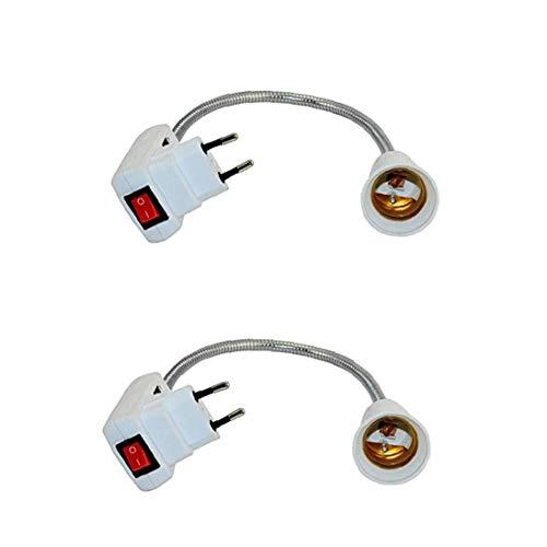 ZYCX123 Titular de la lámpara del Bulbo del zócalo del convertidor Universal de conversión de LED Base E27 convertidor del zócalo del Enchufe Adaptador Multi lámpara Función de Cambio del Enchufe de