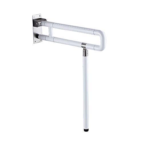 Armlehnen-Toiletten-Sicherheitshandlauf 304 Edelstahl-faltender U-förmiger rutschfester Handlauf Badezimmer-Toiletten-barrierefreier Geländerhandlauf