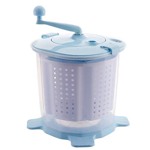 BCXGS Lavadora de Tambor Manual No Eléctrica Portátil, Deshidratación Manual de La...