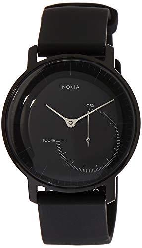 Withings Herren HWA01-FullBlack-all-Inter Armbanduhr, Full Black, 36 mm