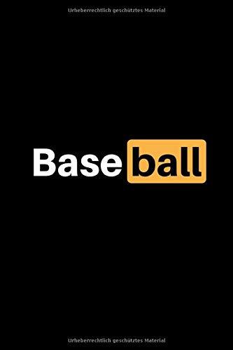 Baseball: Notizbuch - 150 linierte Seiten (6x9 Zoll / Softcover) - Sport: Spielvorbereitung & Analyse - Trainingstagebuch / Schreibblock & perfektes Geschenk - günstig