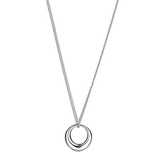 Aluyouqi Co.,ltd Necklace Ladies Geometric Circle Necklace