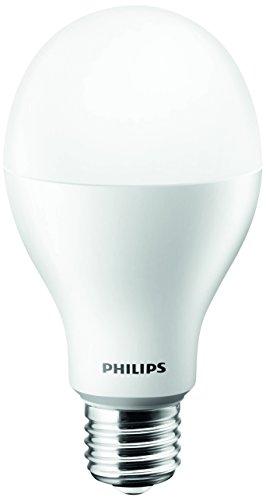 Philips Ampoule LED Standard Culot E27, 14W équivalent 100W, Blanc Chaud 2700K, Dépolie