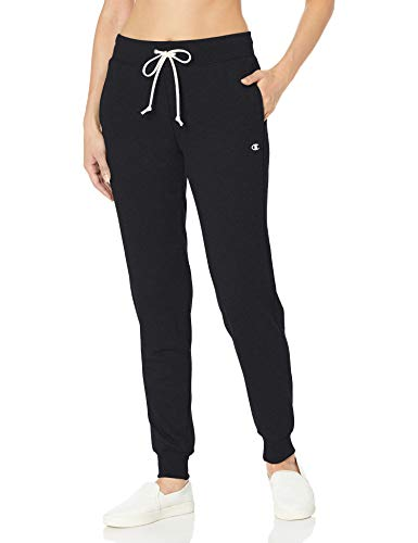 Champion Women's French Terry Jogger, Black, M